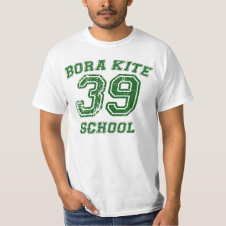 T-shirt Man College Letters