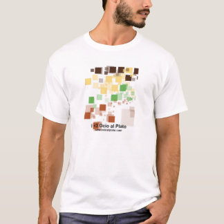"T-shirt man short sleeve ""Pixels!"