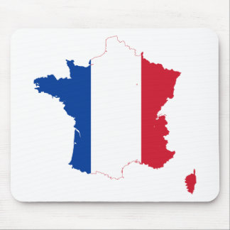T Shirt map-of-france Mouse Pad
