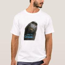 """T-Shirt, Men, """"Living the Dream"""" T-Shirt"""