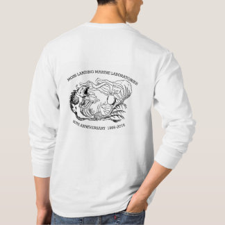 T-shirt (Men's): long sleeve, Lingcod/Kelp 50th