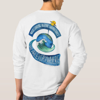 T-shirt (Men's): long sleeve, We are Everywhere