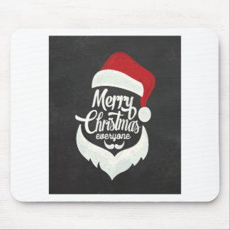 T Shirt Merry Christmas Mouse Pad