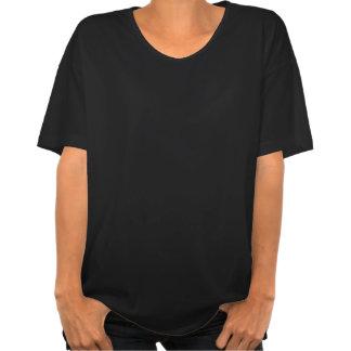 T-shirt modela modela del chica de la camiseta 50s