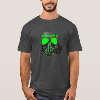 T-Shirt Monsanto Gas Mask Flip