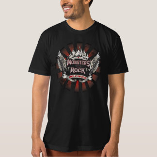 """T-shirt """"Monsters Of Rock Hollywood """""""