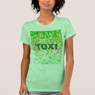 T-Shirt Mosaic Sparkley Texture