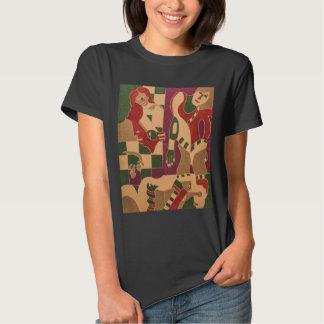 "T-Shirt Mujer ""la señorita 1 "" Remera"