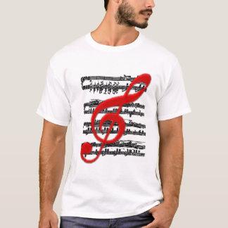 T-SHIRT-Musical notation T-Shirt