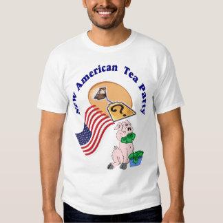 T Shirt-NEW AMERICAN TEA PARTY!! Shirt