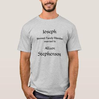 T-shirt - newest family member (spouse)