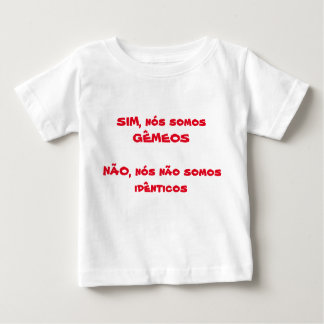 T-shirt of the twin