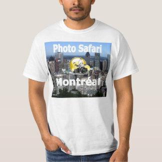 T-shirt officiel Photo Safari Montreal