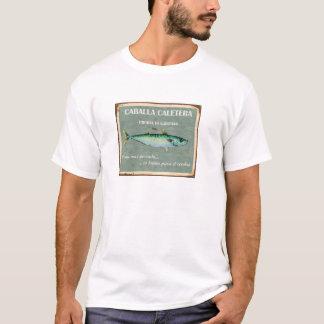 T-shirt Old Poster Vintage Cadiz Mackerels