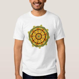 T-Shirt - Orange Mandala
