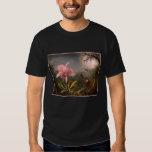 T-Shirt: Orchid and Hummingbirds T Shirt