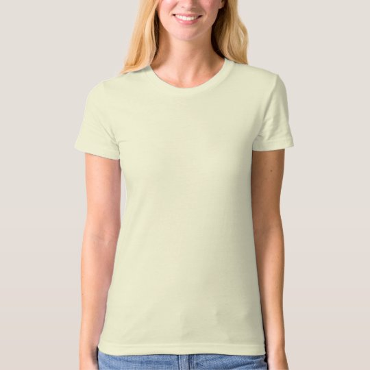 T-SHIRT ORGANIC FITTED  WOMENS  SIZES