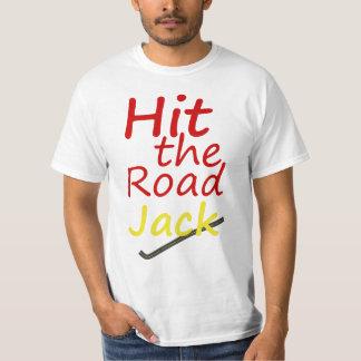 T-shirt Originart Hit The Road, Jack!