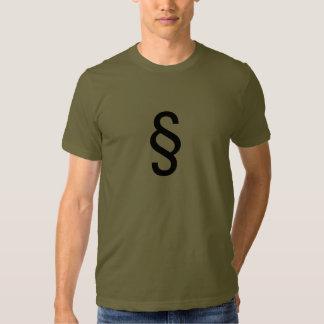 t-shirt, paragraph, law tee shirt