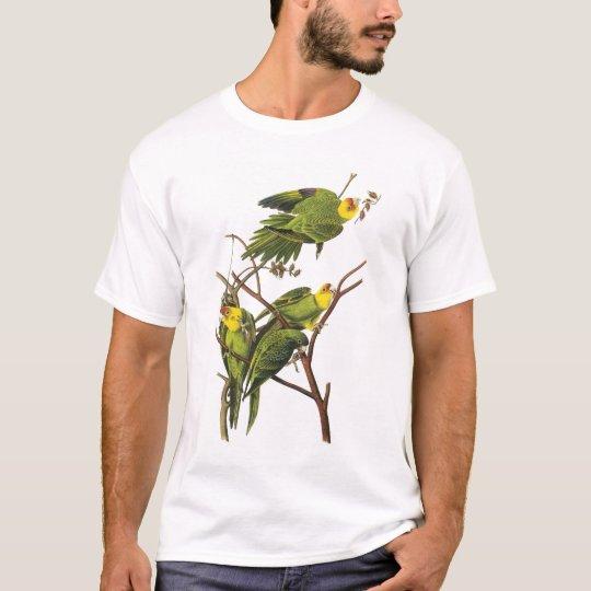 T-Shirt: Parakeets - by John Audubon T-Shirt