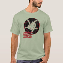 T-shirt Pentagram Cat