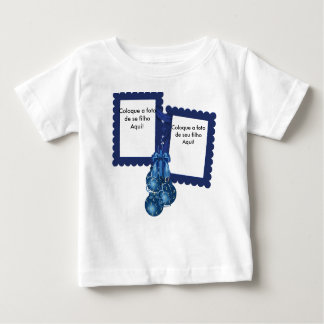 """T-shirt Perishes Jersey for Baby """"Balls of Christm"""