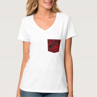 t-shirt pocket design, cowboy