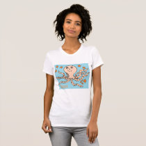 t-shirt POINT OF JERSEY FOR WOMAN SQUID ENJOY