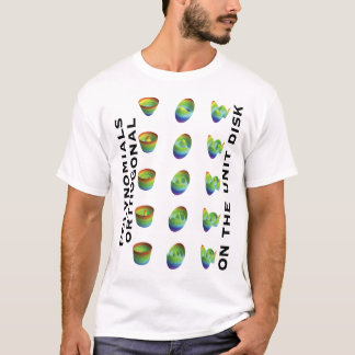 T-shirt: polynomials orthogonal, plain back T-Shirt