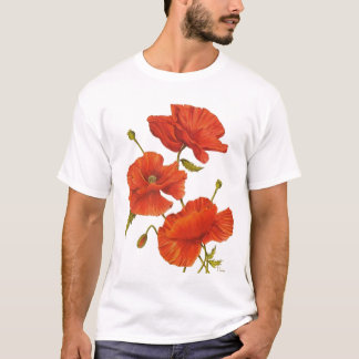 T-shirt Poppies