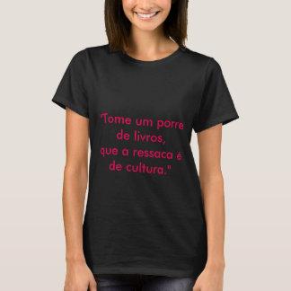 T-shirt Porre de Livros