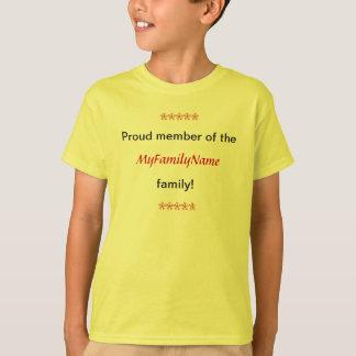 T-shirt - Proud Member of Family