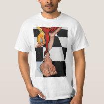 T-shirt Queen Chess