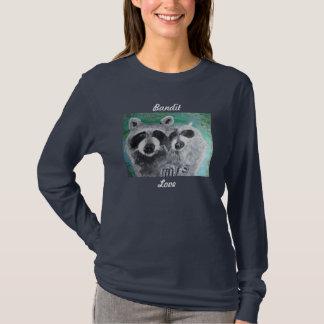T-Shirt - Raccoon Art - Bandit Love