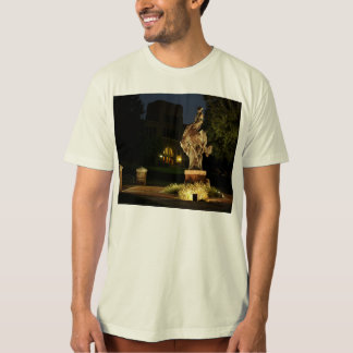 T-shirt - Ranger Statue at Night