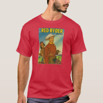 T-Shirt RED RYDER 1951 Comic Book Cover