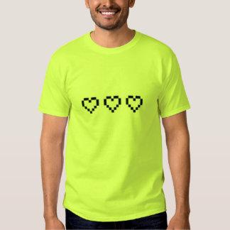 t-shirt,retro heart,green t shirt