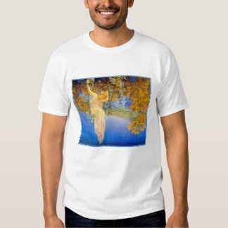 T-Shirt:  Reveries - by Maxfied Parrish T-Shirt