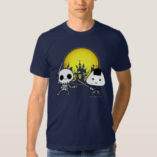 T-shirt - RiceBall Samurai VS Skeleton