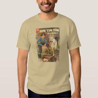 T-Shirt Rin TinTin 1958 Comic Book Cover Rusty