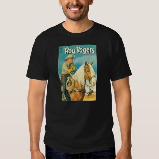 T-Shirt ROY ROGERS & TRIGGER 1952 Comic Book Cover