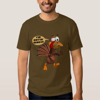 T-Shirt - Running For Cover Turkey