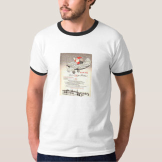 T-Shirt-Santa Claus - Airmail - Christmas T-Shirt