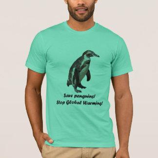 "T-shirt ""save penguins. """