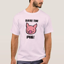 T-shirt SAVE THE PIG