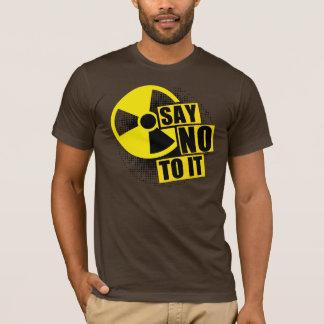 T-shirt Say NO