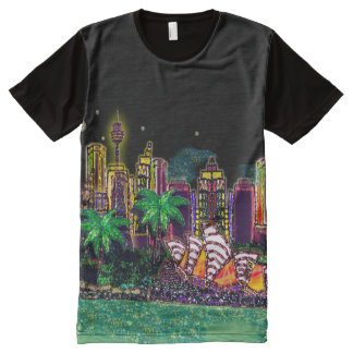 T-Shirt | Sequin Art Print Sydney Australia