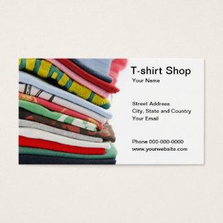 T-shirt Shop Business Card