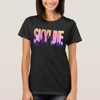 T-Shirt Skyline Magic W
