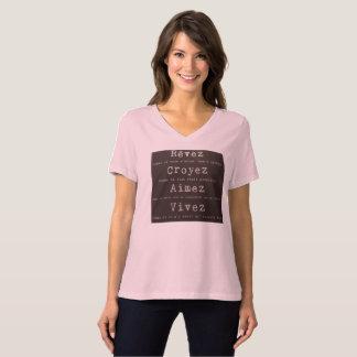 T - shirt soñan, creen, gustar playera